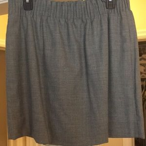 Grey JCrew Skirt